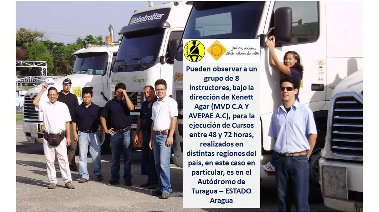 El Manejo Vial Defensivo MVD en Venezuela. Pionero desde 1980 / Más de 500 cursos díctados y 7.000 alumnos – Auditable. Kenett J Agar